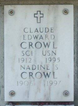 Claude Edward Crowl