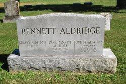 Emma <I>Bennett</I> Aldridge