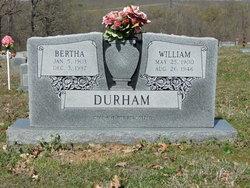 Bertha <I>Mayhue</I> Durham