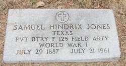 Samuel Hendrix Jones