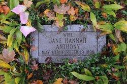 Jane Hannah Anthony