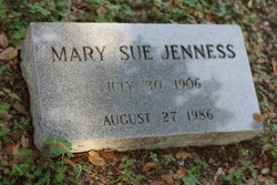 Mary Sue <I>Denson</I> Jenness
