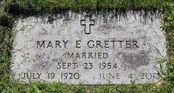 Mary Eugenie <I>Bodensteiner</I> Gretter