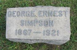 George Ernest Simpson
