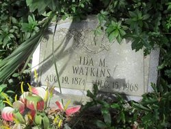 Ida M <I>Hays</I> Watkins