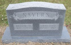 Josephine <I>Gaddis</I> Sayers