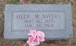 Ollie M Sayers