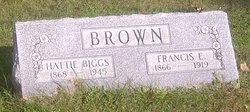 Hattie <I>Biggs</I> Brown