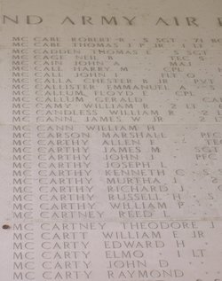 Corp Richard John McCarthy