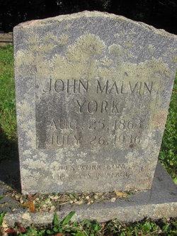 John Malvin York, Sr