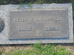 Helen Faye <I>Atkinson</I> Baumberger