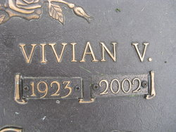 Vivian V Jones