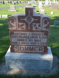 Anna E. <I>Schumacker</I> Sommer