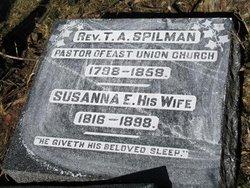 Susanna <I>Evans</I> Spilman