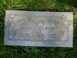 Marie <I>Berlin</I> Mohr