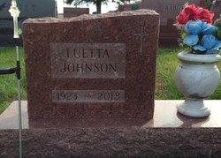 Luetta Paulina <I>Sorensen</I> Johnson