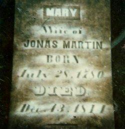 Mary <I>Hill</I> Martin