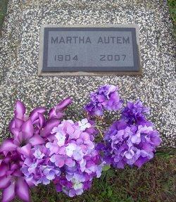 Martha W. <I>Reich</I> Autem