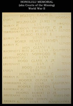 Lt Clark Alexander Hood Jr.