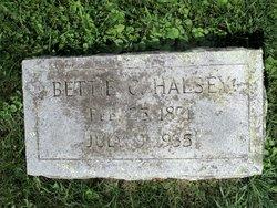 Bettie Cordelia <I>Bryant</I> Halsey