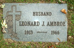 Leonard J Ambroe