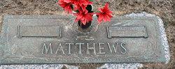 """Martha Jewel """"Mattie"""" <I>Orem</I> Matthews"""