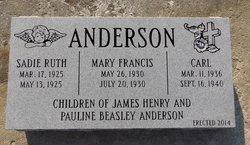 Sadie Ruth Anderson