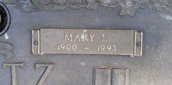 """Mary Loretta """"Mamie"""" <I>Hoffman</I> Ortz"""