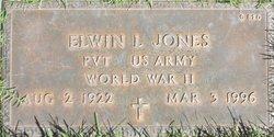 Elwin L Jones