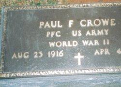 Paul Franklin Crowe
