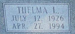 Thelma Luella <I>Patrick</I> Back