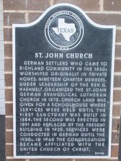 Saint John Evangelical Lutheran Cemetery
