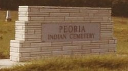 Peoria Indian Cemetery