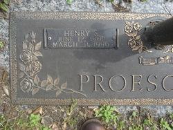 Henry Speight Proescher, Sr