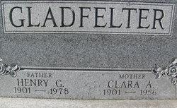 Clara A. <I>Bortzfield</I> Gladfelter
