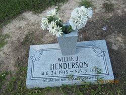 Willie James Henderson