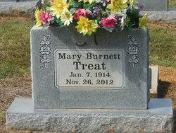 Mary <I>Burnett</I> Treat
