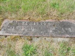 Cecil O Pomeroy