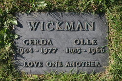 Gerda Josefina <I>Jossfolk</I> Wickman