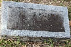 Will F Paden