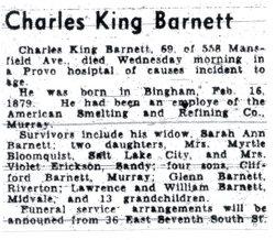 Charles King Barnett