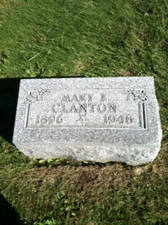 Mary Elizabeth <I>Strain</I> Clanton