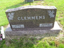 Anna Katherine <I>Jensen</I> Clemmens