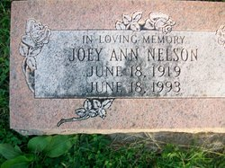 Joey Ann <I>George</I> Nelson