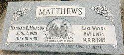 Earl Wayne Matthews