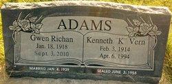Kenneth Vern Adams