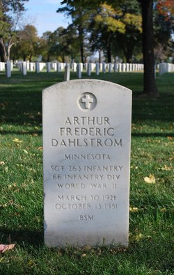 Arthur Frederic Dahlstrom