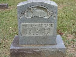 William McDade