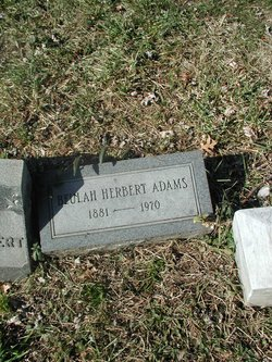 Beulah E <I>Herbert</I> Adams