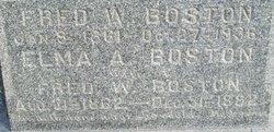 Fred W. Boston